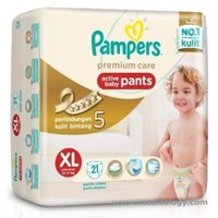 jual Pampers Premium Care Active Baby Pants XL21