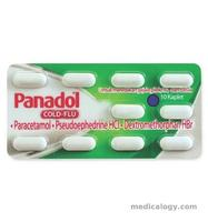 jual Panadol Cold dan Flu Tablet per Box
