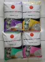 jual Pasir Kucing Wangi Gumpal Bentonite Cat Litter Golden West 10Lt