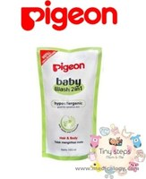 jual Pigeon Baby Wash 2 in 1 Hair and Body Refill - 350 ml