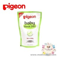 jual Pigeon Baby Wash 2 in 1 Hair Body 600ML