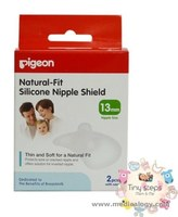 jual Pigeon Natural Fit Silicone Nipple Shield 13mm 2pcs