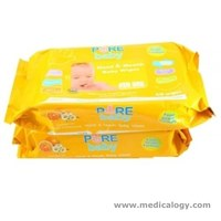 jual Pure Premium Care for Baby Tisu Basah Buy 2 Get 160 Wipes Tisu Basah