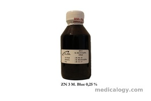 jual Reagen Methylene Blue 0,3 %/ ZN 500 ml