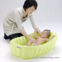 jual Richell Airy Inflatable Bayi Safety Bath Tub bak mandi Bayi Newborn
