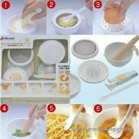 jual Richell Bayi Food Processor Maker alat pembuat MPASI Bayi manual Set