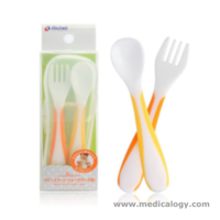 jual Richell Fork  Spoon Set / Sendok Set Richell