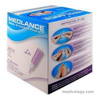 Safety Lancet Medlance Plus Lite 25G/1.5 mm