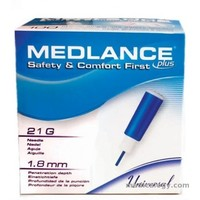 Safety Lancet Medlance Plus Universal 21G/1.8 mm