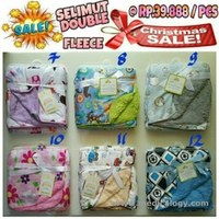 jual Selimut Double Fleece - Carter Super High Quality