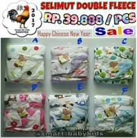 jual Selimut Double Fleece - Super High Quality