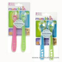 jual Sendok Bayi MUNCHKIN Bayi first Silicone Spoon Safe for Gum