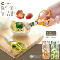 jual Simba Baby Food Scissors stainless steel material