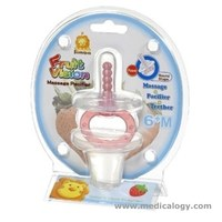 jual Simba FRUIT VISION MASSAGE PACIFIER - ROUND SHAPE 6M+