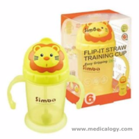jual SIMBA Lion Flip It Bayi Training Straw Cup Gelas Latih Sedotan Bayi