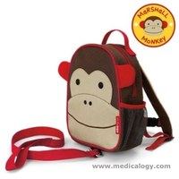jual Skip Hop Zoo-Let Mini Backpack With Rein - Monkey