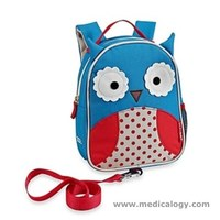 jual Skip Hop Zoo-Let Mini Backpack With Rein - Owl