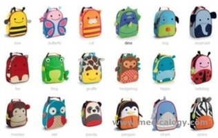jual SkipHop Zoo Insulated Lunch Bag