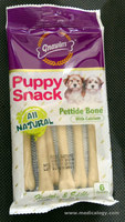 jual Snack Anjing/Gnawlers Puppy Snack Pettide Bone 40g 01170