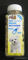 jual Snack Anjing/Pet8 Dog Biscuits Milk Flavour 110 JC11-BS