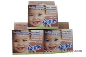 jual Spiffies Tooth Wipes Apple Flavor Pack of 20