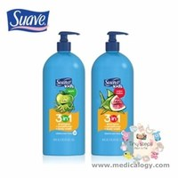 jual SUAVE 3 in 1 Shampoo + conditiOner + Bodywash 118 L