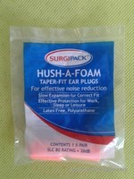 jual SurgiPack HUSh-A-Foam Ear Plugs Effective Protection for WorkSleep