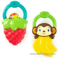 jual Teether Baby Bright Starts Vibrating Teether