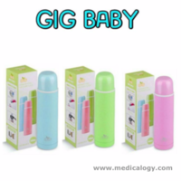 Termos Air Gig Bayi Korea Vacuum Flask Pastel Color 500ml Panas Dingim