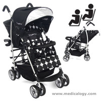 jual Tiny World Tandem Stroller A Double Stroller As Lightweight Compact