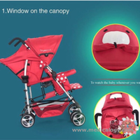 jual Tiny World Tandem Stroller - how to USe