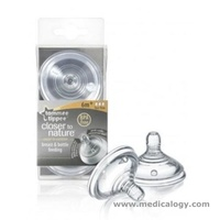 jual Tommee Tippee Closer to Nature Slow Flow Teats - 0month+ 2 Pack