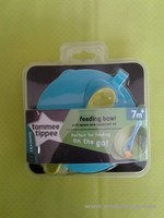 jual Tommee Tippee Feeding Bowl With Spoon and Leakproof Lid 7 M+ mangkuk