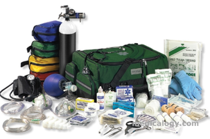 jual Trauma Oxygen Kit with Dyna Med ALS Easy Access Trauma Bag