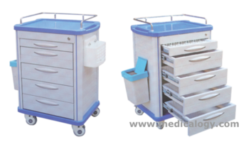 jual Trolley Medical Cart AP 860 AL ALPINOLO