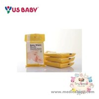 jual US Baby Baby Wipes Mouth Hands Face Isi 10 LemBar X 3 Packs = 30wps