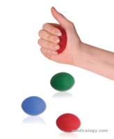 jual Variteks Silicone Hand Rehabilitation Ball Red-hard, Blue-middle, Green-Soft