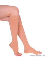 jual Variteks Stocking Kesehatan GOLD SERIES Knee High Varicose Stocking, OT, Beige/Black, Normal comp