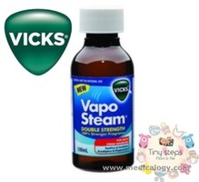 jual Vicks Vapo Steam Double Strength 100 ml MengatASI Flu Demam Anak