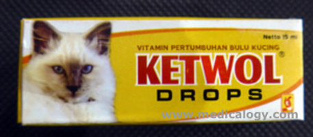 jual Vitamin Kucing/Ekafarma Ketwol Drops 15ml