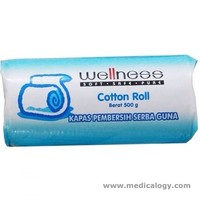 jual Wellness Cotton Roll Kapas 250 Gram Kapas Gulung