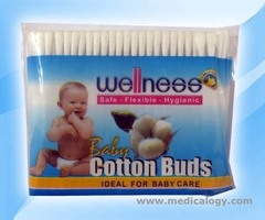 jual Wellness Cotton Buds Baby Kapas Refil 100's Cleansing Swabs