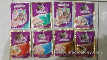 jual Whiskas Pouch 85Gr Isi 24 Pcs