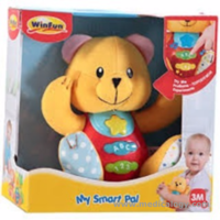 jual WinFun Win Fun My Smart Pal Bear Boneka Musik Edukatif Bayi