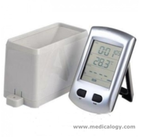 "jual Wireless Rain Gauge With Temperature and 2.7"" LCD"