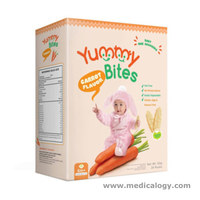 jual Yummi Bites Baby RIce Crackers Banana Original Carrot Apple Vegeta