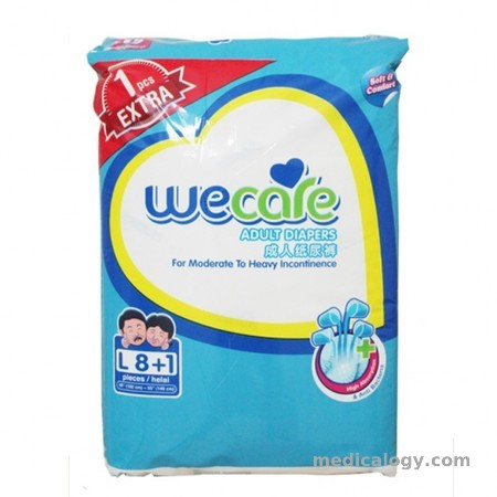 harga WeCare Pampers Size L Isi 8