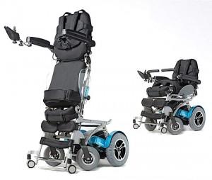 Standing electirc wheelchair